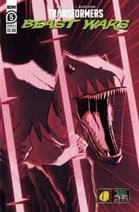 Transformers Beast Wars #5 CVR A Josh Burcham