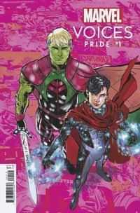 Marvels Voices Pride #1 Variant Jimenez Pride Month B