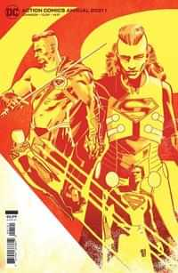 Action Comics Annual 2021 CVR B Cardstock Valentine De Landro
