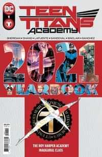 Teen Titans Academy Yearbook 2021 CVR A