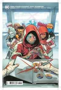 Teen Titans Academy Yearbook 2021 CVR B Cardstock Rafa Sandoval