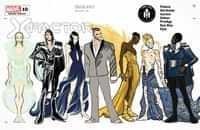 X-factor #10 Variant Baldeon Character Design