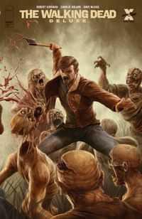 Walking Dead #18 Deluxe Edition CVR C Rapoza