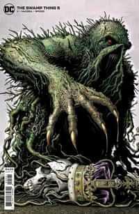 Swamp Thing #5 CVR B Cardstock Brian Bolland