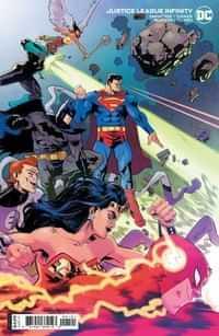 Justice League Infinity #1 CVR B Cardstock Scott Hepburn