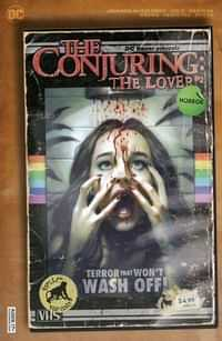 Dc Horror Presents The Conjuring The Lover #2 CVR B Cardstock Ryan Brown Vhs Tribute