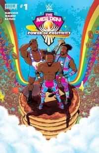 WWE New Day Power Of Positivity #1 CVR A Bayliss
