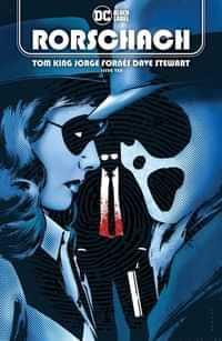Rorschach #10 CVR A Jorge Fornes