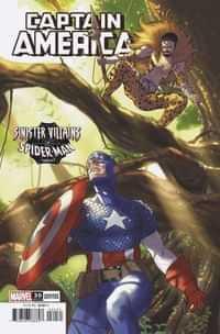 Captain America #30 Variant Clarke Spider-man Villains