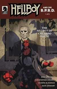 Hellboy and Bprd Secret Of Chesbro House #1 CVR B Stenbeck