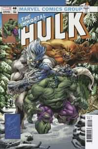 Immortal Hulk #48 Variant Bennett Homage