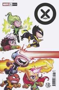 X-men #1 Variant Young Var