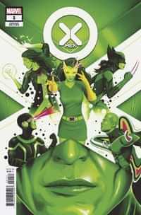 X-men #1 Variant 25 Copy Doaly