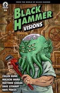 Black Hammer Visions #6 CVR C Hurtt