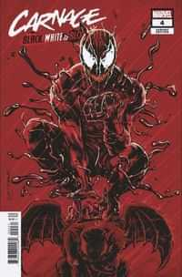 Carnage Black White And Blood #4 Variant 25 Copy Mooney