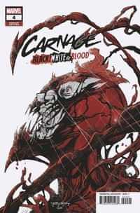 Carnage Black White And Blood #4 Variant Randolph