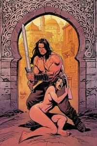 Cimmerian Man-eaters Of Zamboula #1 Variant 10 Copy Paquette