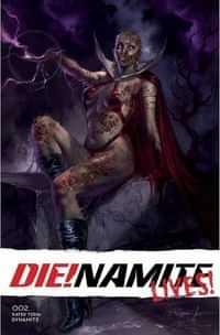 Die!namite Lives #2 CVR A Parrillo