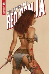 Invincible Red Sonja #3 CVR C Celina
