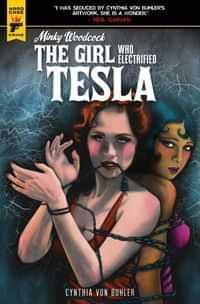 Minky Woodcock Girl Electrified Tesla #4 CVR C Buhler