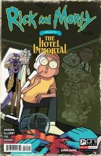 Rick And Morty Presents Hotel Immortal #1 CVR A Ellerby