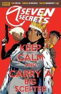 Seven Secrets #10 CVR A Di Nicuolo