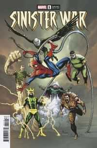 Sinister War #1 Variant Frank