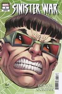 Sinister War #1 Variant Nauck Headshot