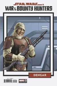 Star Wars War Bounty Hunters #2 Variant 25 Copy Trading Card