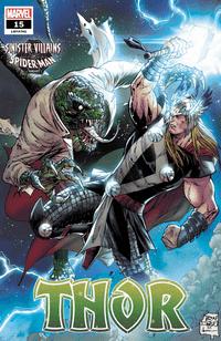 Thor #15 Variant Daniel Spider-man Villains