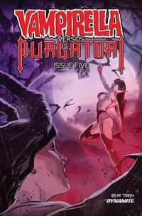 Vampirella Vs Purgatori #5 CVR C Kudranski