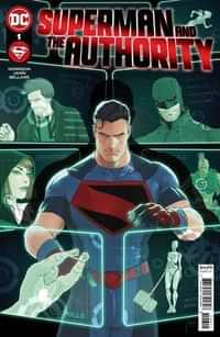 Superman And The Authority #1 CVR A Mikel Janin