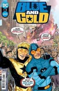 Blue and Gold #1 CVR A Ryan Sook