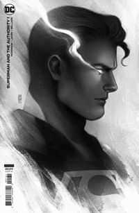 Superman And The Authority #1 Variant 25 Copy Jen Bartel Headshot