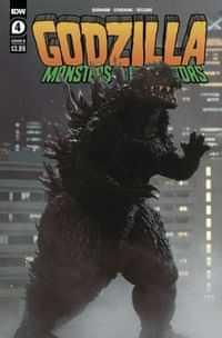 Godzilla Monsters and Protectors #4 CVR B Photo CVR