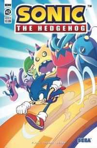 Sonic The Hedgehog #42 CVR B Abby Bulmer