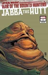 Star Wars War Bounty Hunters Jabba Hutt #1 Variant Headshot
