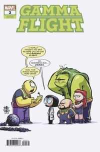 Gamma Flight #2 Variant Young