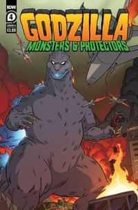 Godzilla Monsters and Protectors #4 CVR A Dan Schoening
