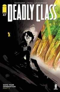 Deadly Class #47 CVR A Craig and Wordie
