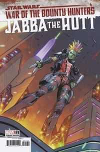 Star Wars War Bounty Hunters Jabba Hutt #1 Variant 25 Copy Coello