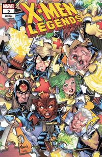 X-men Legends #5 Variant Nauck Puzzle