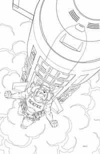 Skybound X #3 Variant 10 Copy BW Walker