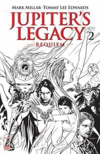 Jupiters Legacy Requiem #2 CVR C Sook BW