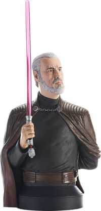 Star Wars Statue Count Dooku Revenge of the Sith Bust