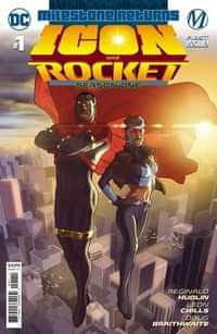 Icon and Rocket Season One #1 CVR A Taurin Clarke