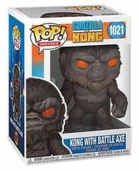 Funko Pop Godzilla Vs Kong Kong with Battle Axe