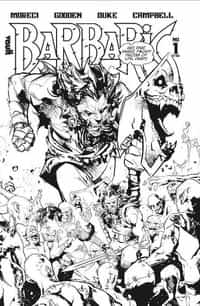 Barbaric #1 Deluxe Edition BW CVR A