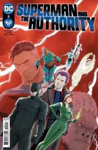 Superman And The Authority #2 CVR A Mikel Janin