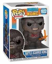 Funko Pop Godzilla Vs Kong Battle Scarred Kong